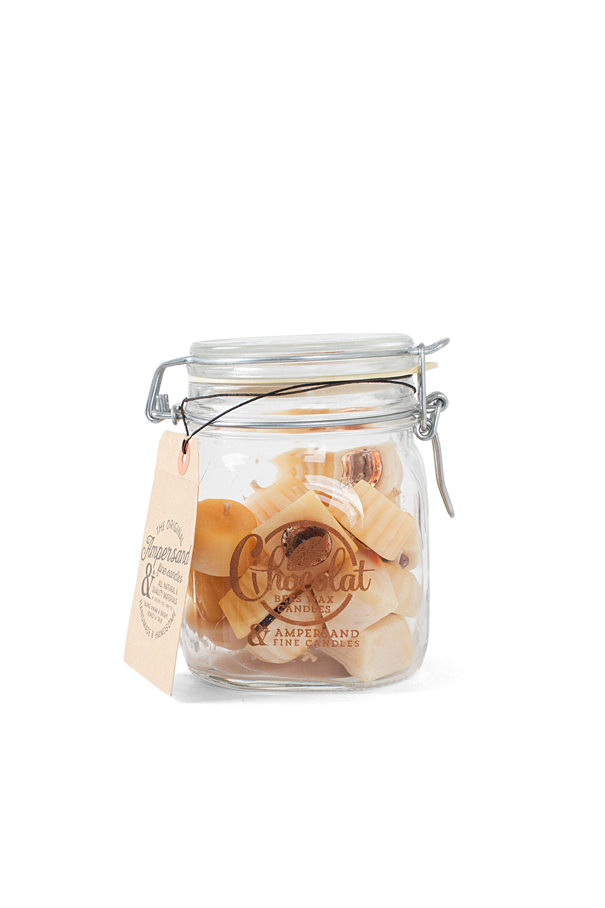 Ampersand Fine Candles : Chocolat Jar (24piece)