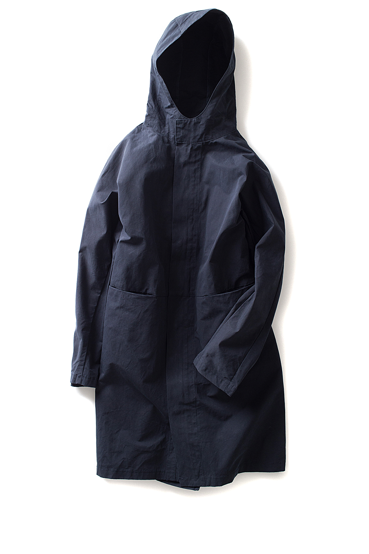 ordinary fits #WHITE : Fishtail Parka (Navy)