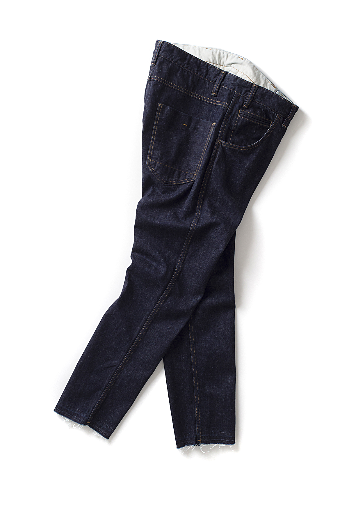 bukht : Slim Tapered 5P Jeans OW (Indigo)