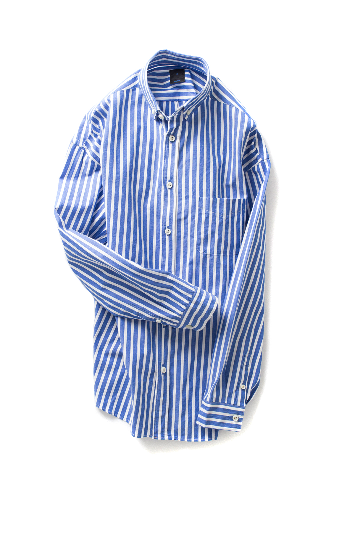 maillot : Stripe BD Shirt (Blue x White)