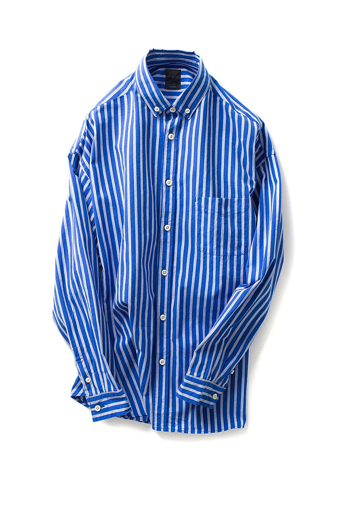 maillot : Stripe BD Shirt (Blue x Grey)