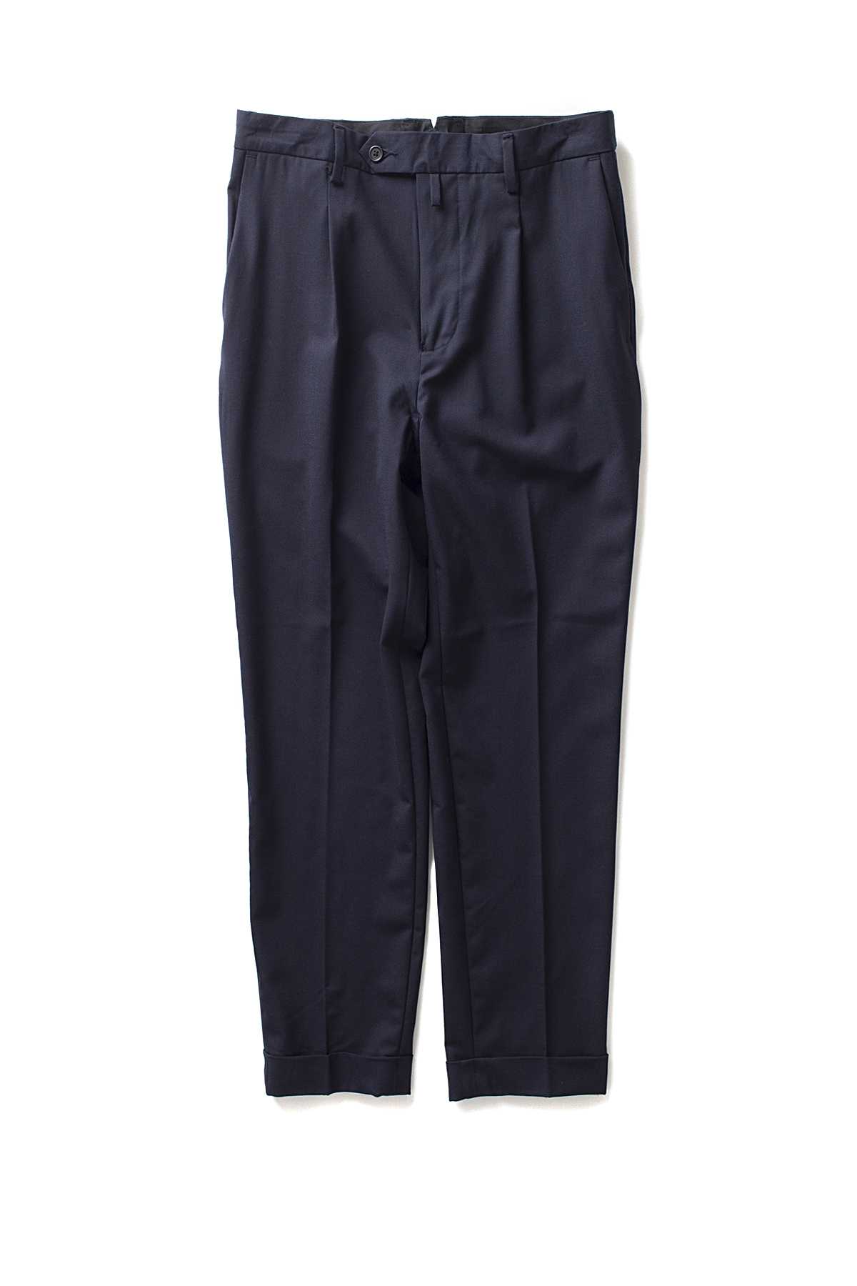 A vontade : 1 Tuck Tropical Trousers (D.Navy)