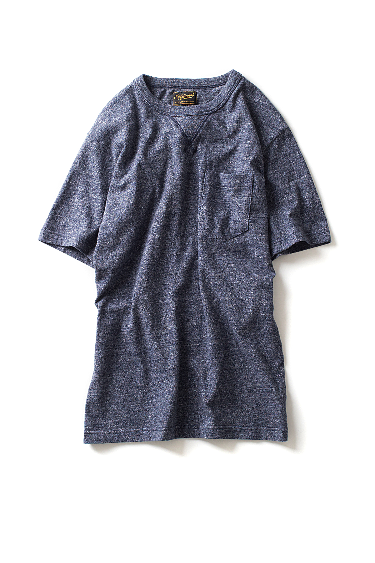 NAG : V Pocket Tee (Navy)