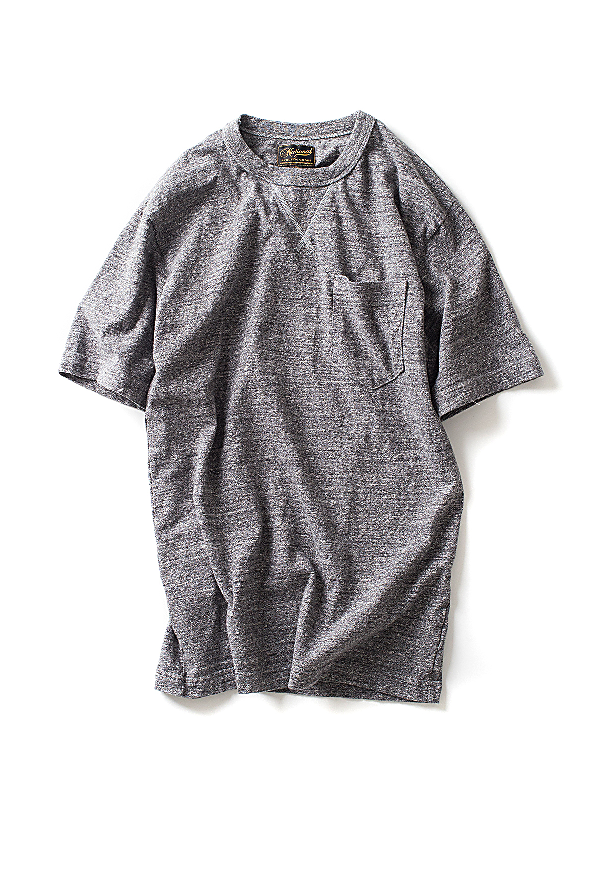 NAG : V Pocket Tee (Dark Grey)