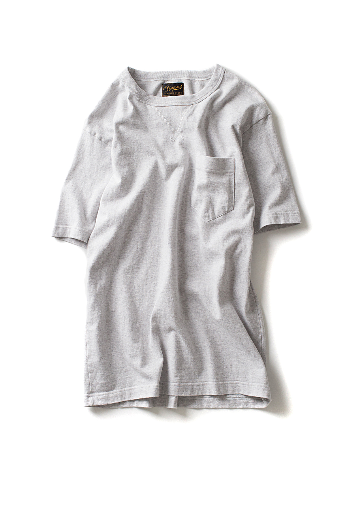 NAG : V Pocket Tee (White Heather)