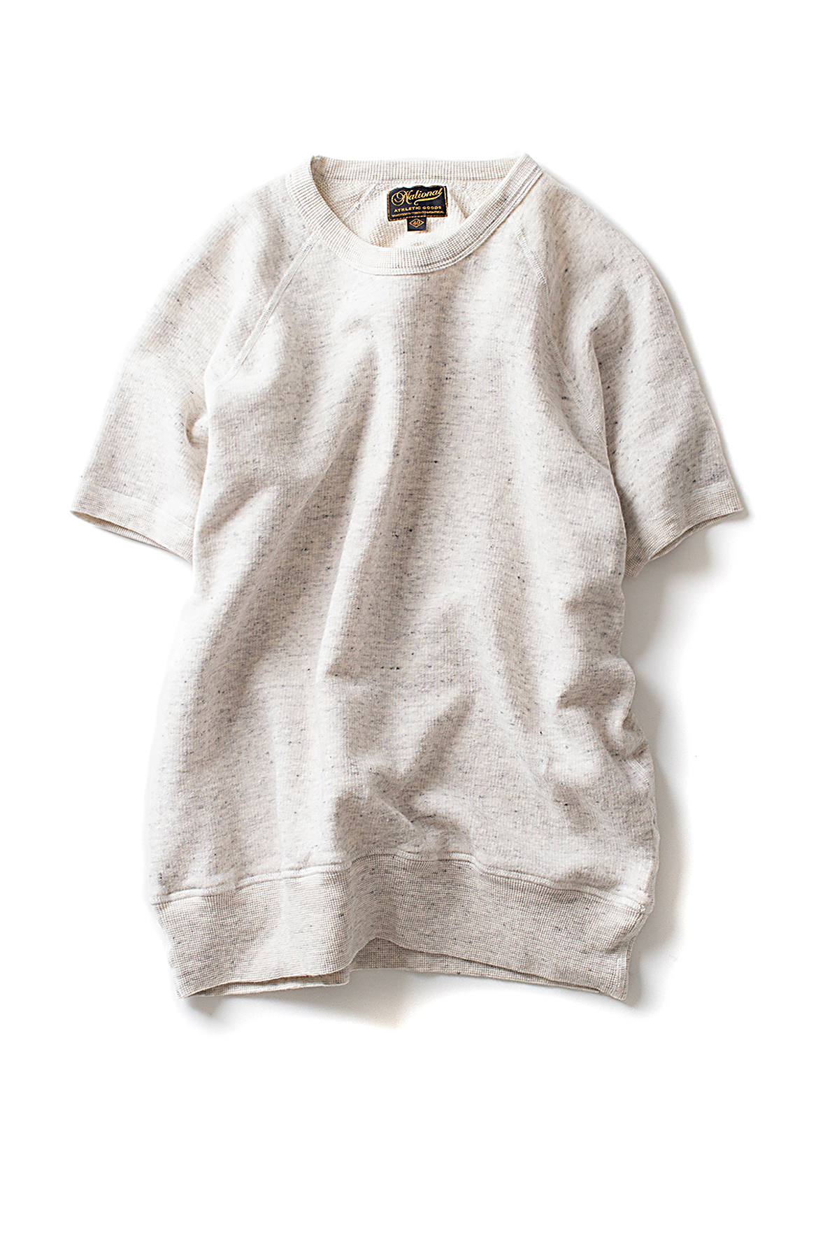 NAG : Raglan warm up S/S (Oat Haze)