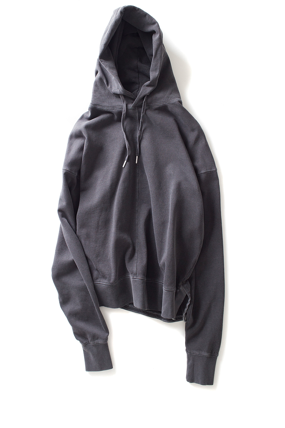 AECA WHITE : Oversize Batwing Hoodie (Charcoal)