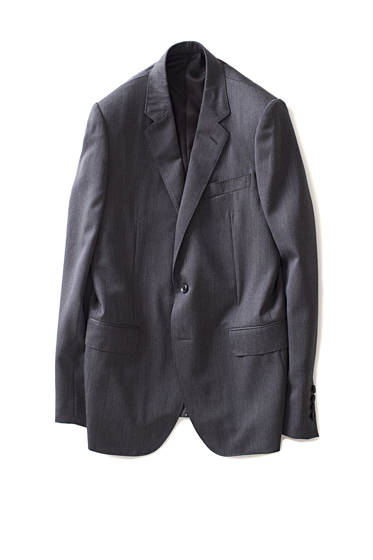 JOHN LAWRENCE SULLIVAN : Basic 2Button Tailored Jacket (Grey)