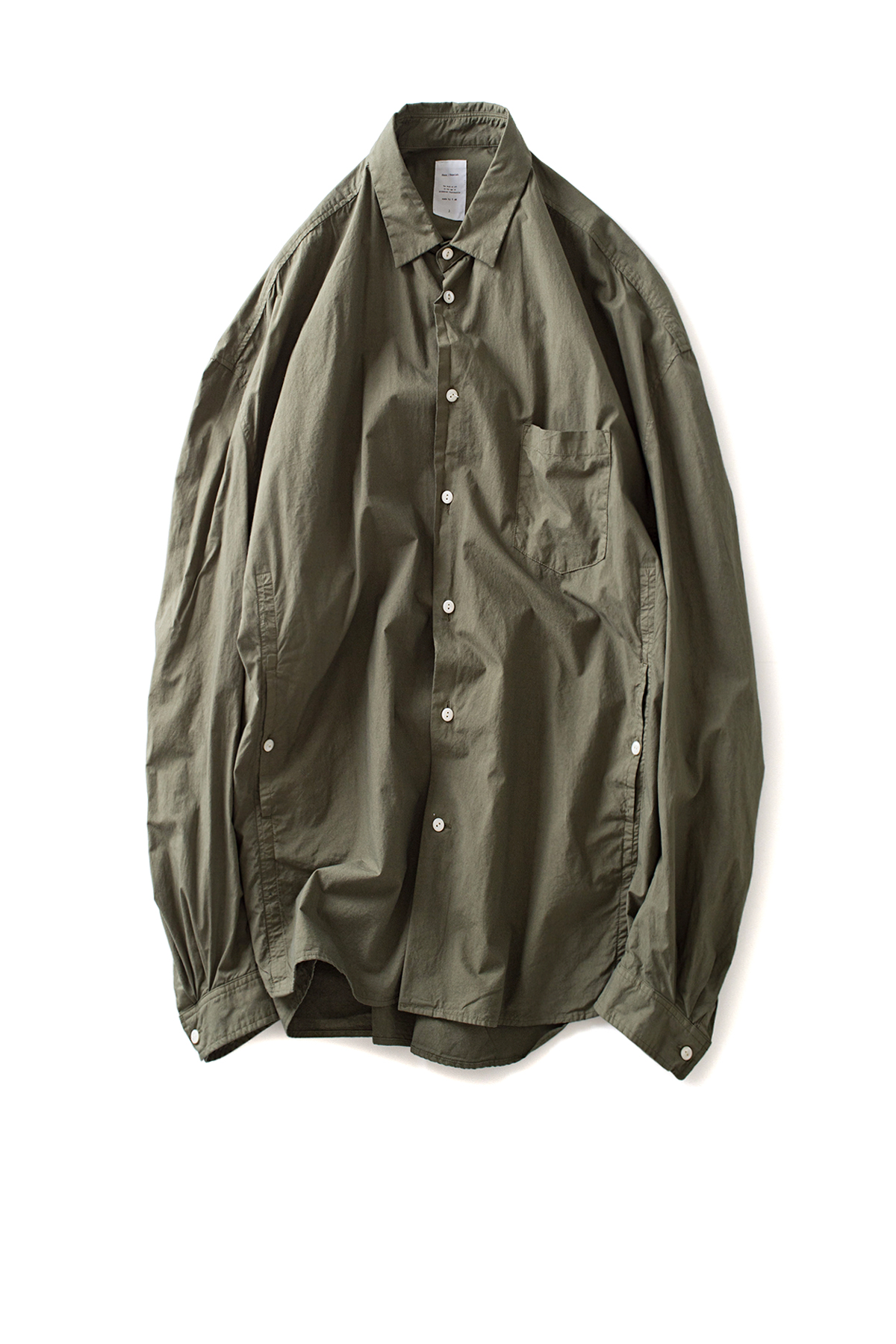 Name : Oversized Shirt (Olive)