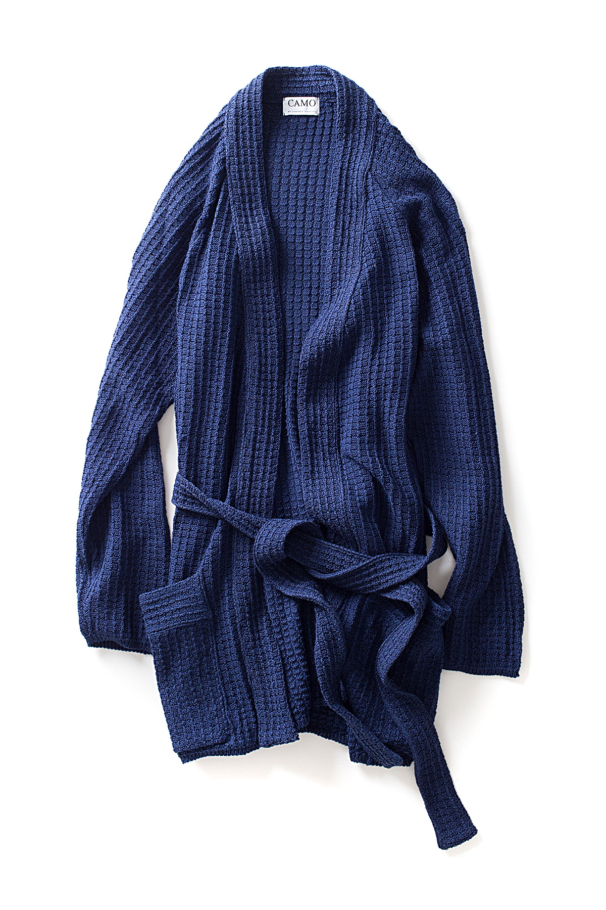 CAMO : Knit Robe Cardigan (Blue)