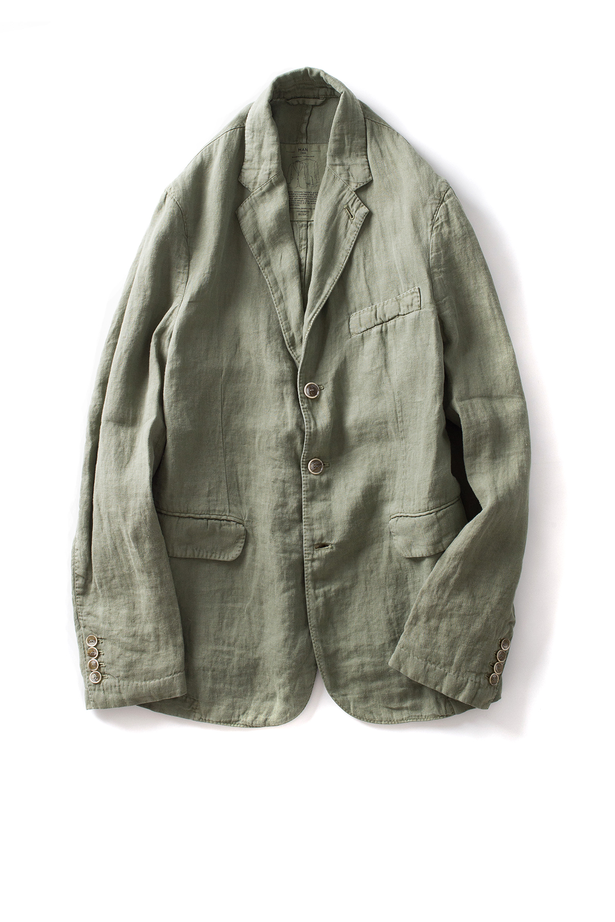 MAN 1924 : Kennedy Blazer (Light Green)