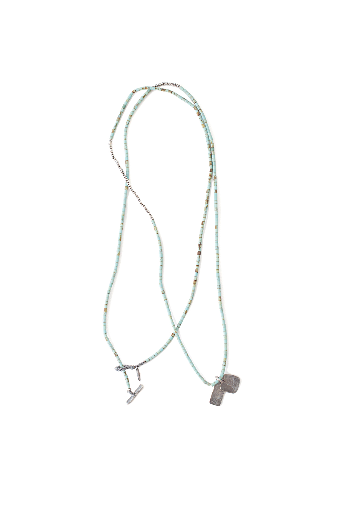 M. Cohen : Horizon Combination Necklace / Bracelet (Trq)