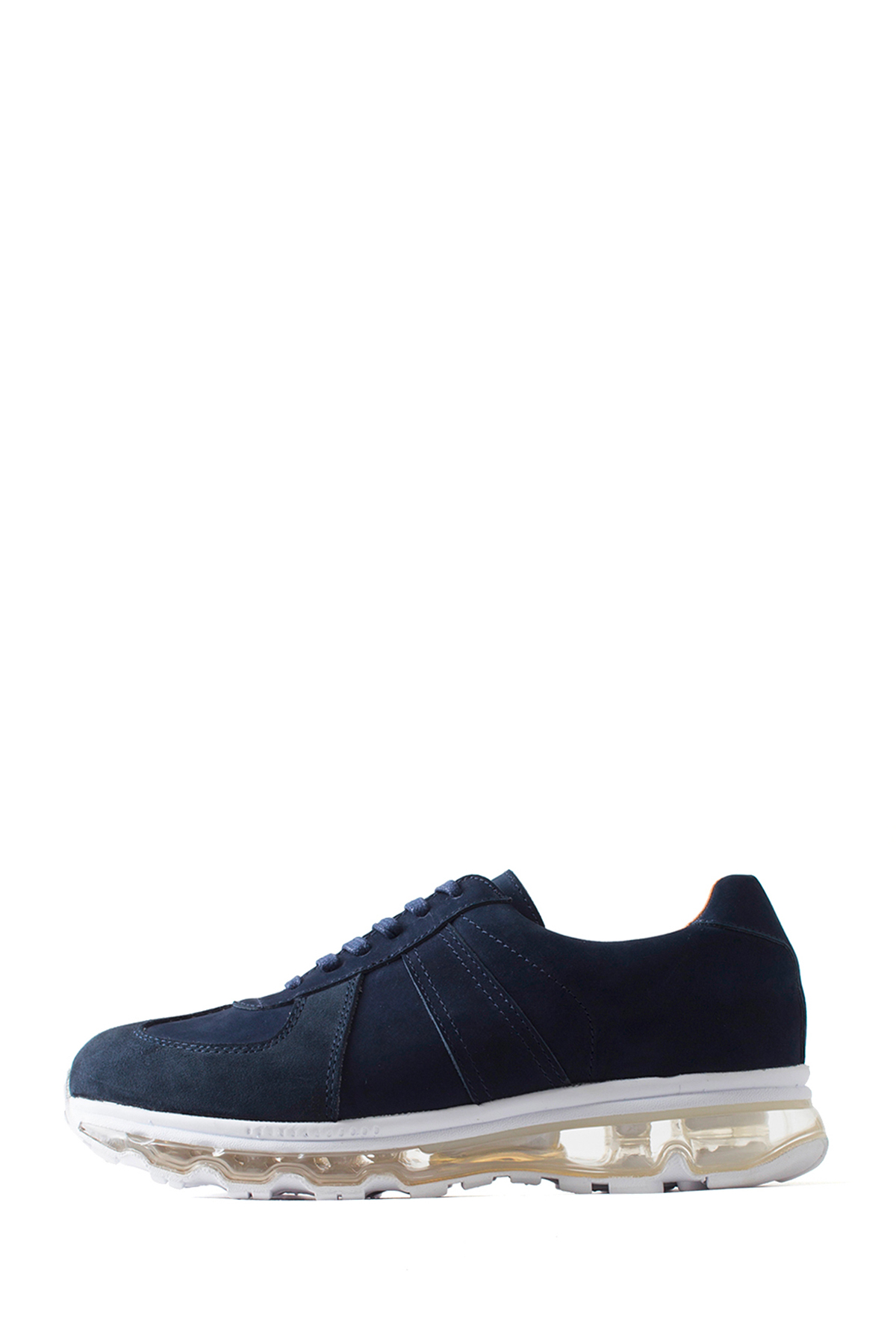 Tomo & Co. : German Trainer (Navy Nubuck / White Sole)