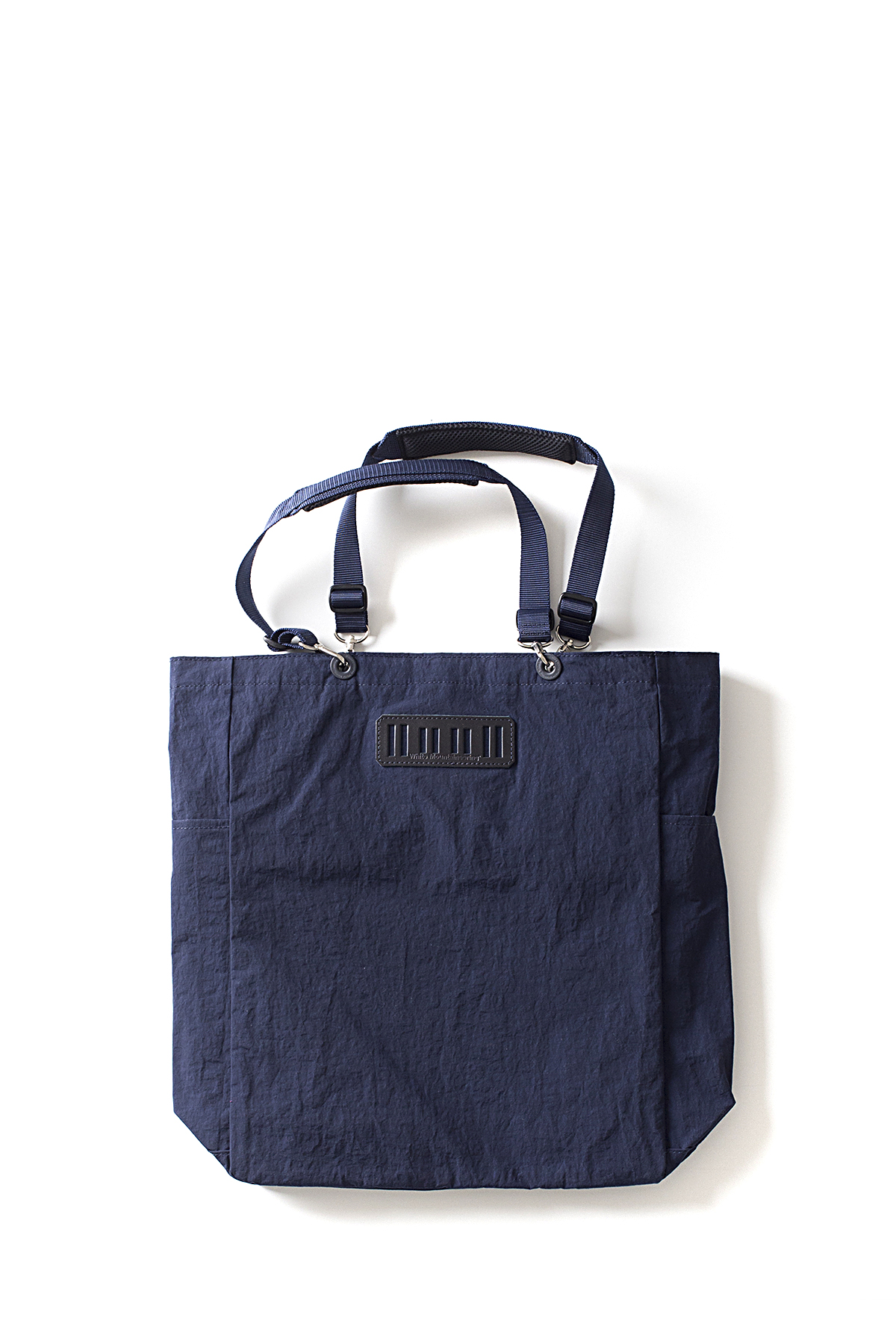 WHITE MOUNTAINEERING : Tote Bag (Navy)