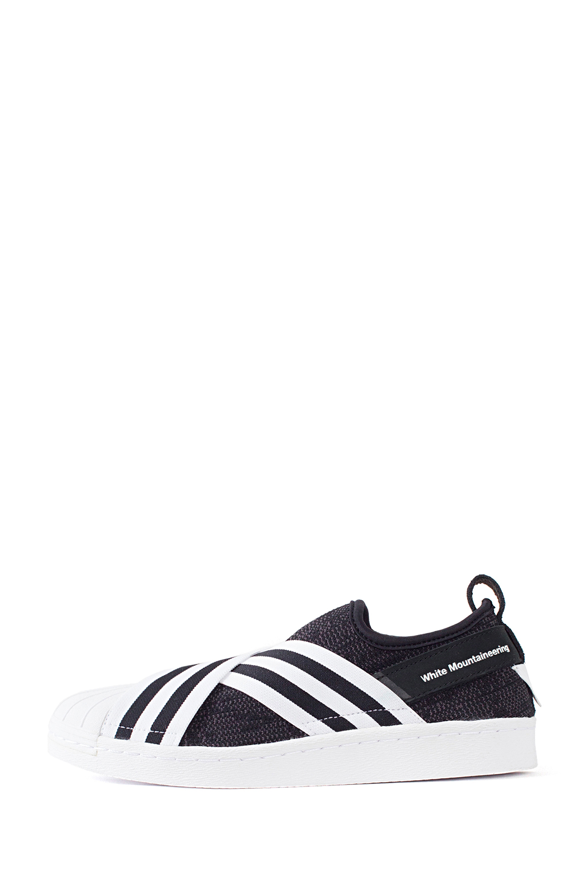 WM x adidas Originals : SUPERSTAR SLIP-ON (Black)