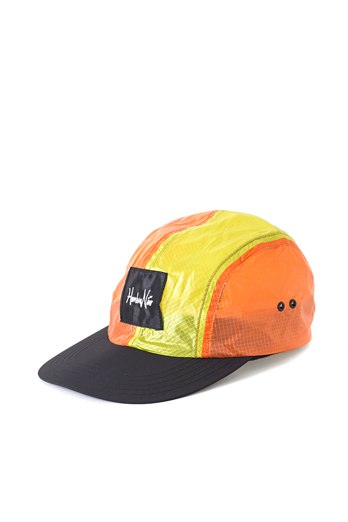 Hombre Niño x COMESANDGOES : Multi Color Nylon Jet Cap (Orange)