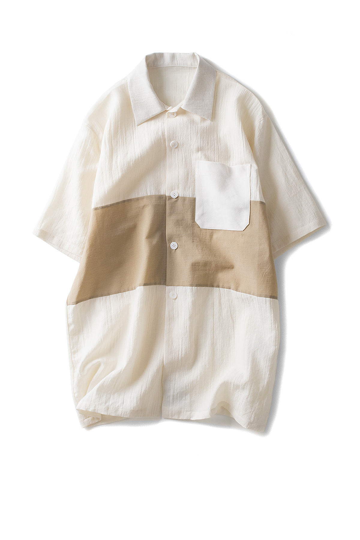 Peir Wu : Tourist Shirt (Off White / Sand)