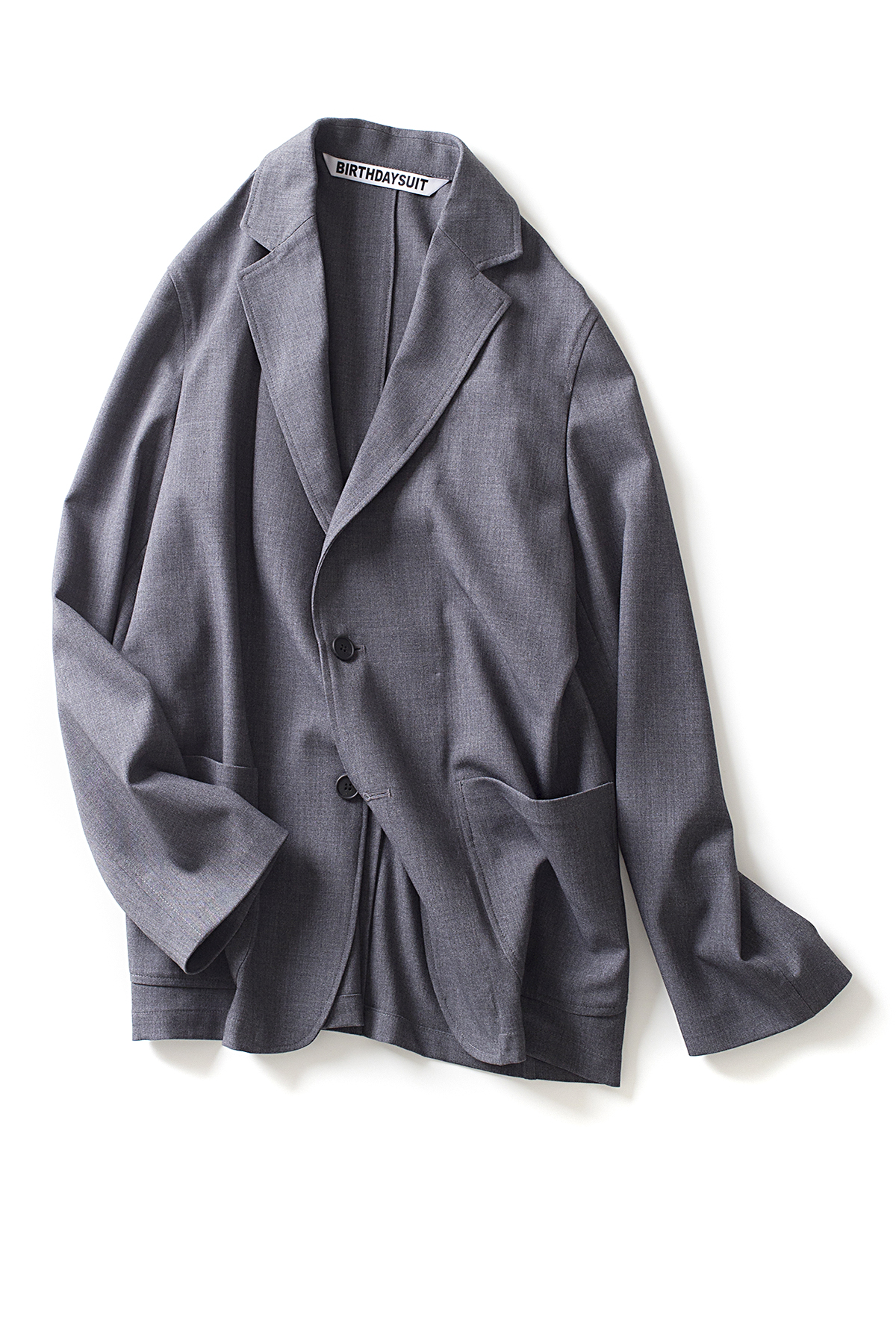 BIRTHDAYSUIT : Daily Jacket (Light Grey)