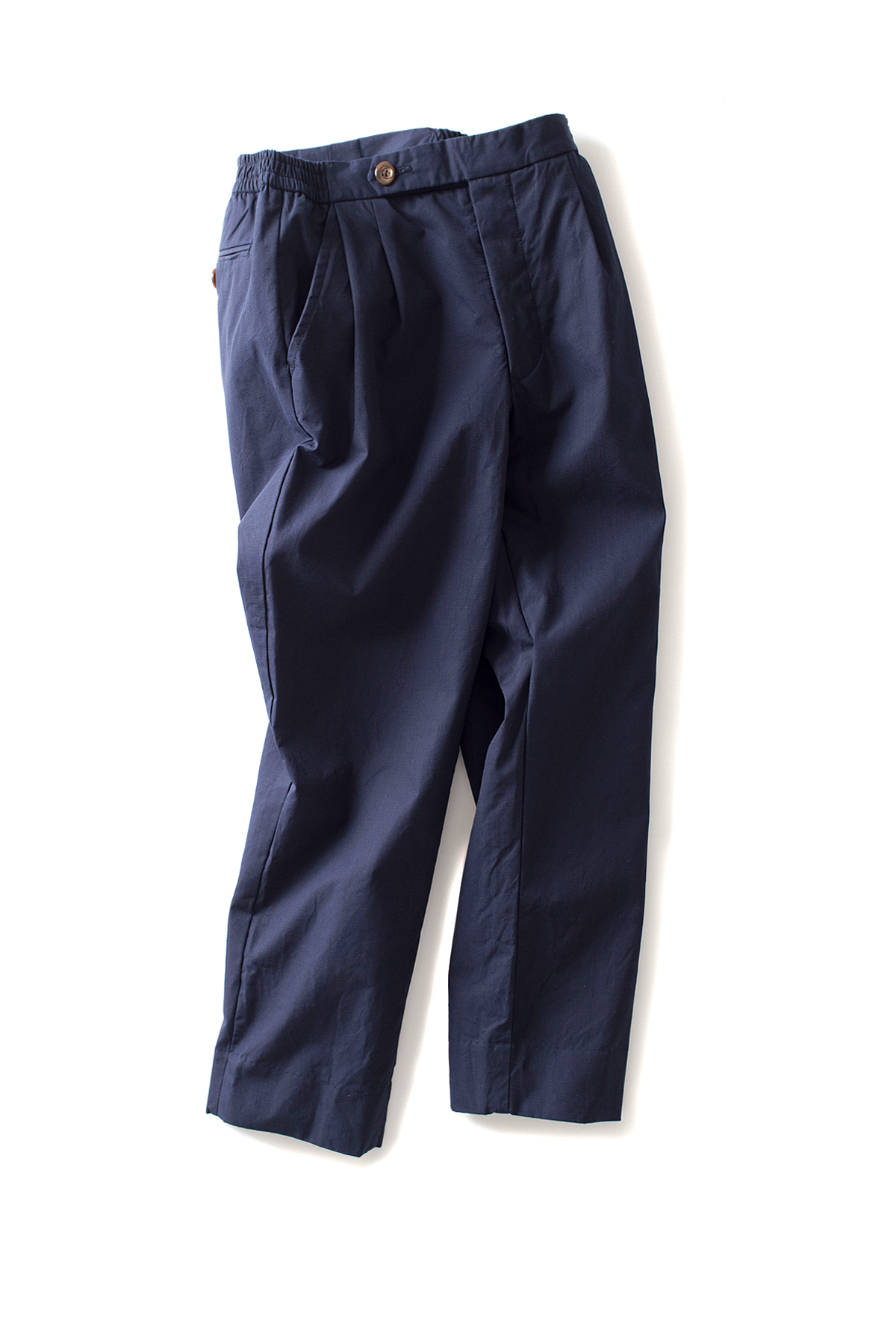 ohh! nisica : Ripstop Easy Pants (Navy)