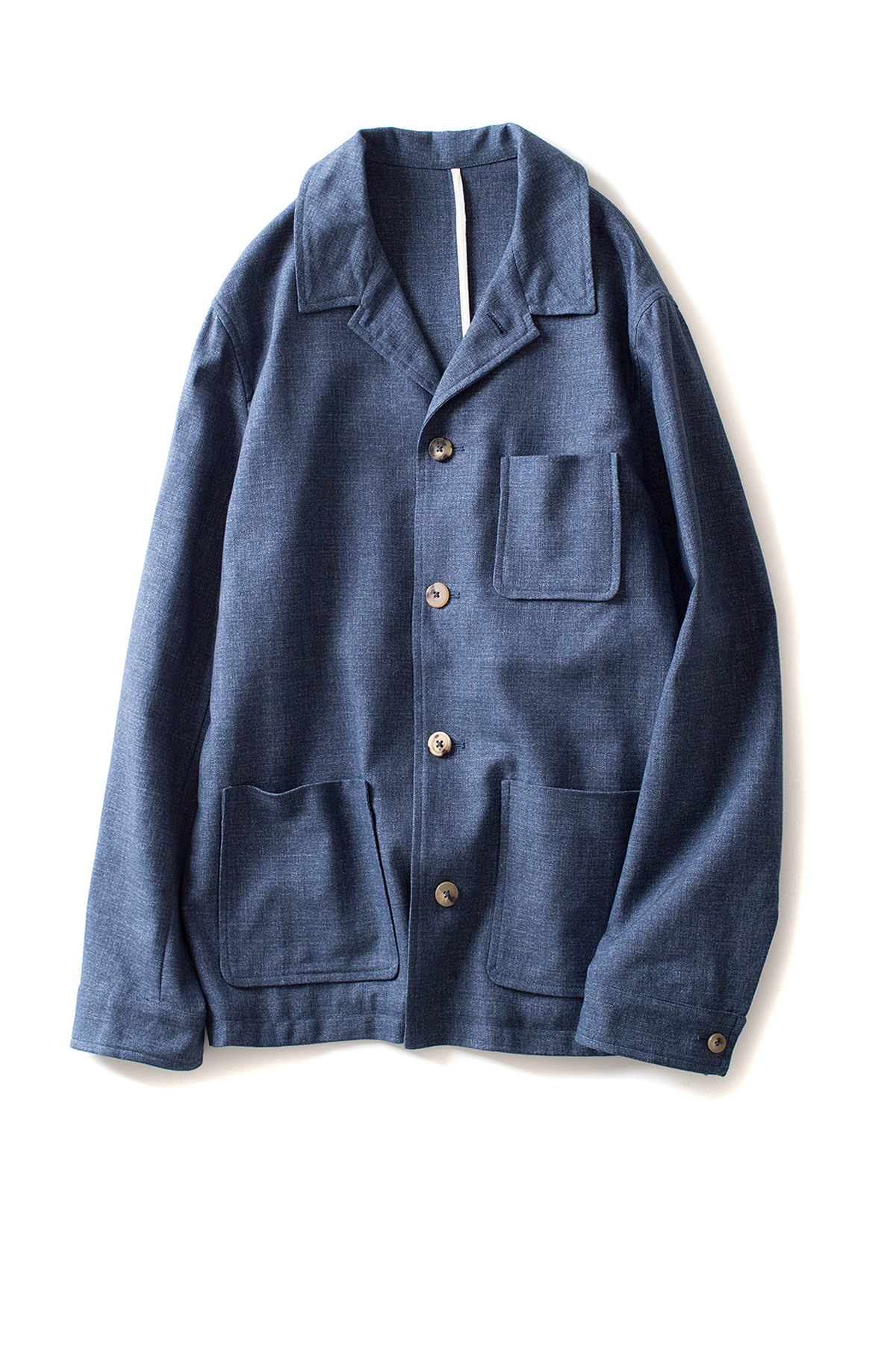 de bonne facture : Work Jacket (Denim Blue)