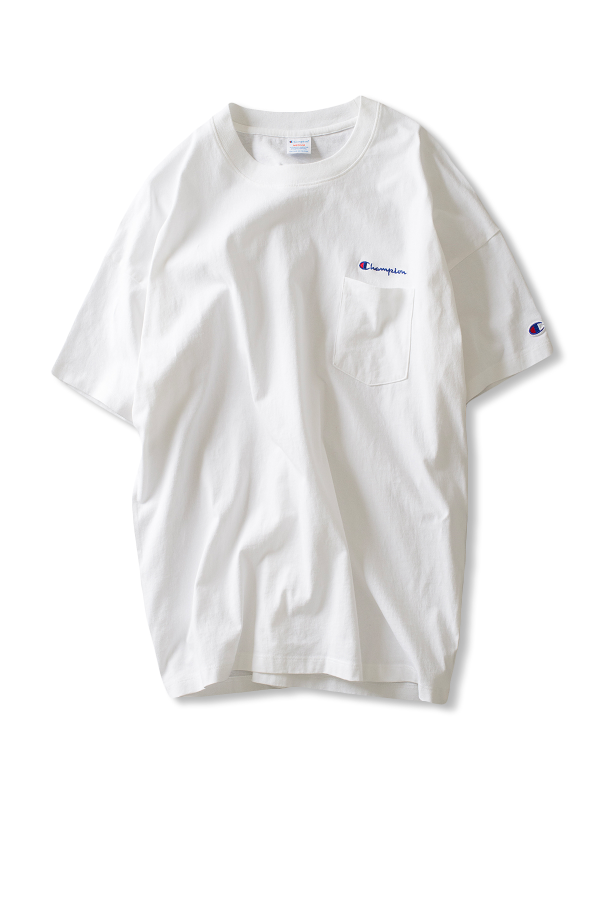 Champion : Campus Pocket T-shirt (White)
