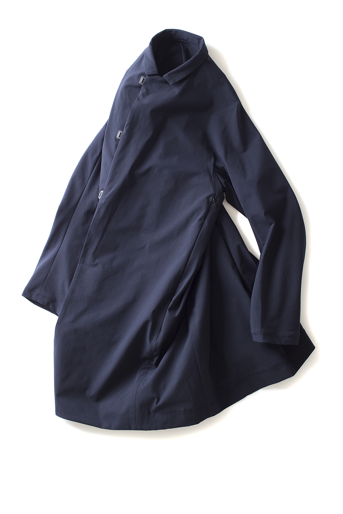 TEATORA : Wallet Coat FF (Navy)