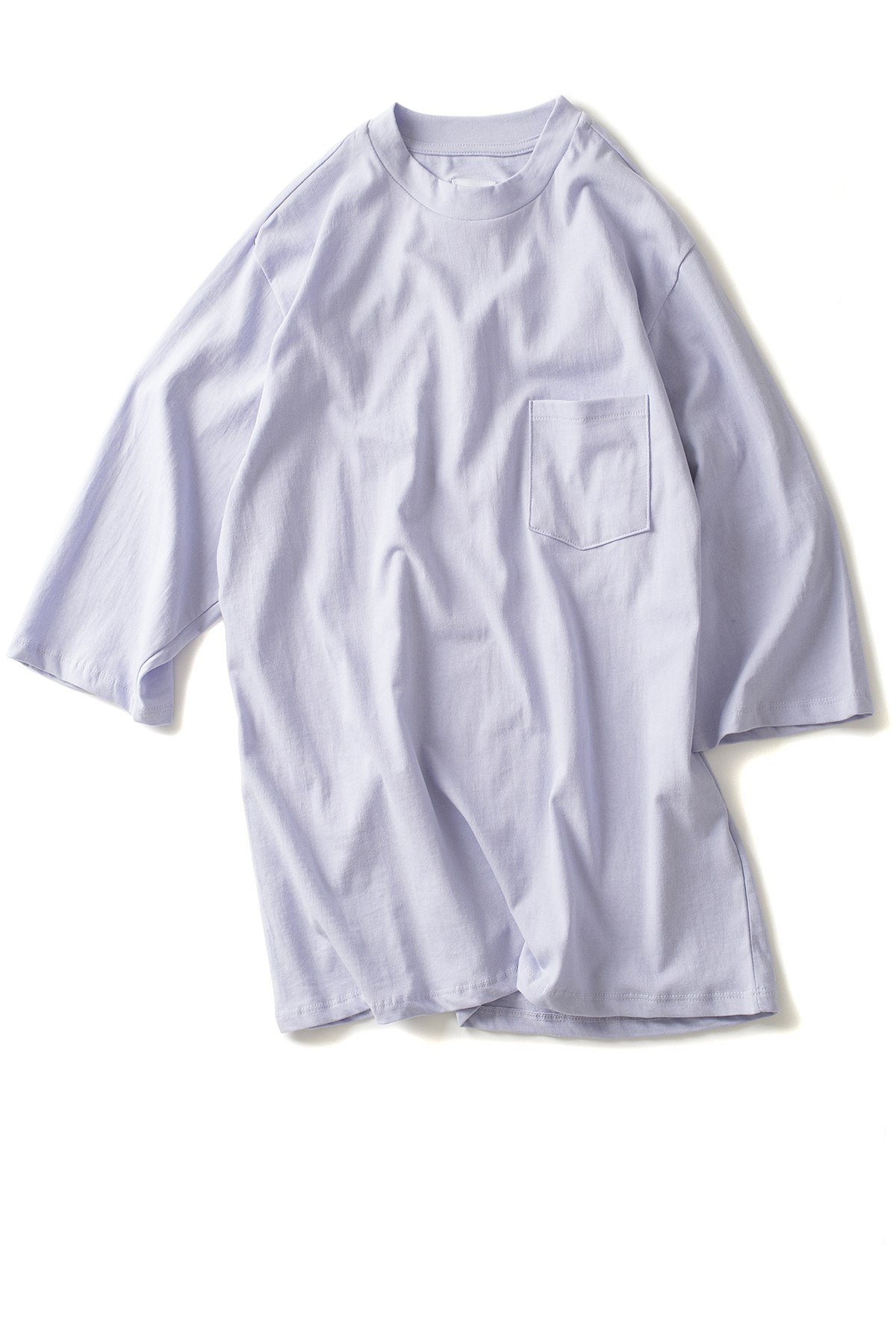 forumwear : One Side Raglan T-Shirt (Lilac)