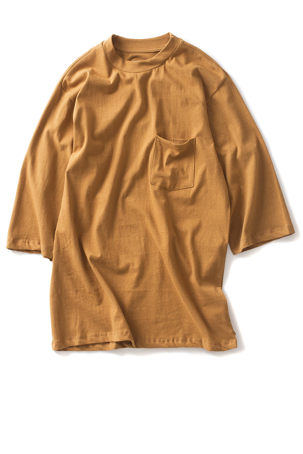 forumwear : One Side Raglan T-Shirt (Camel)