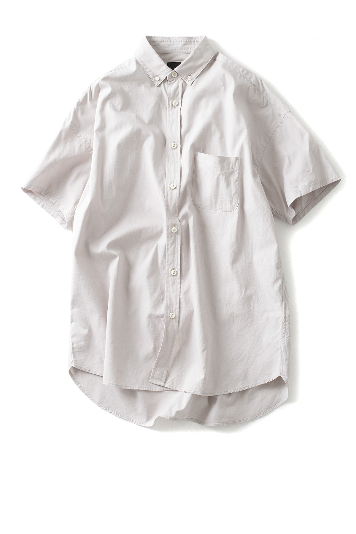 maillot : Soft OX Relax S/S BD Shirt (Stone)