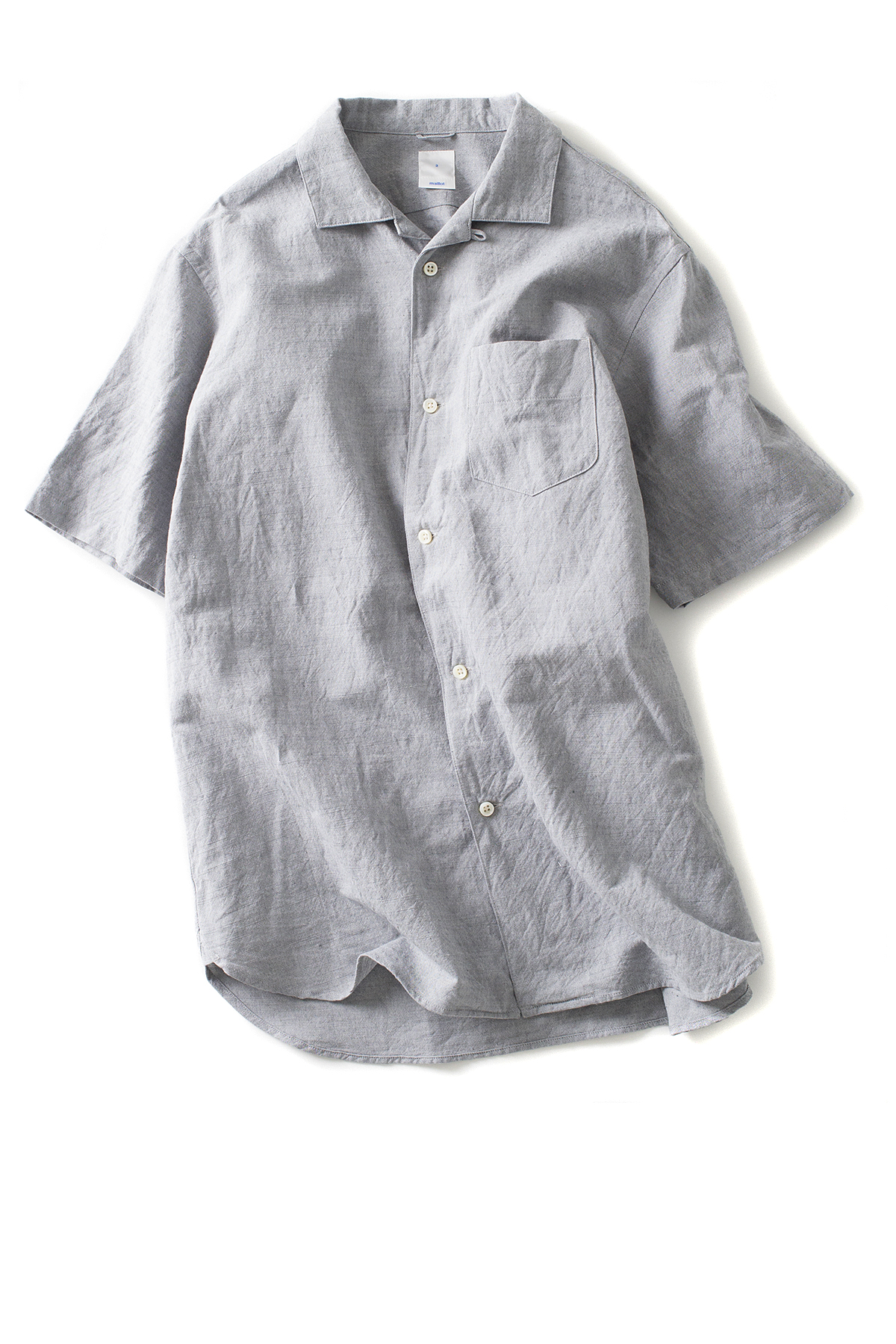 maillot : Sunset S/S Open Shirt (Gray)