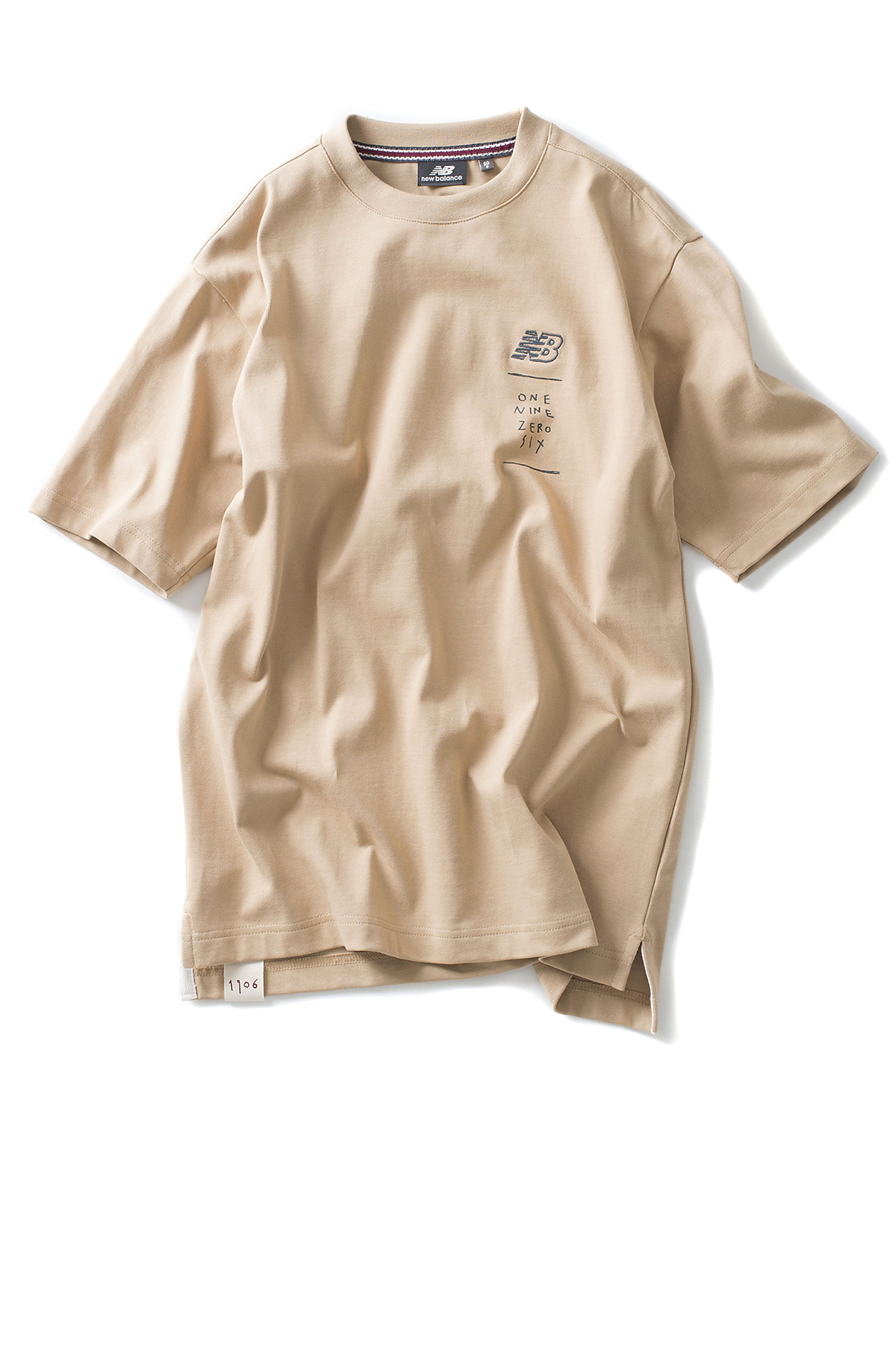 New Balance : UNI Drawing Pack Shoes In Square Tee (Beige)