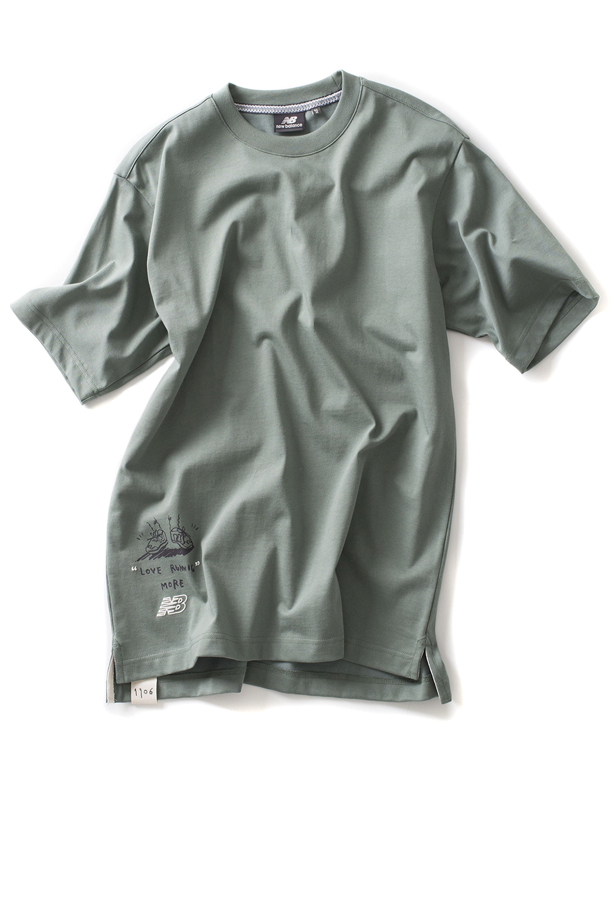 New Balance : UNI Drawing Pack Running On NB Tee (Mint)