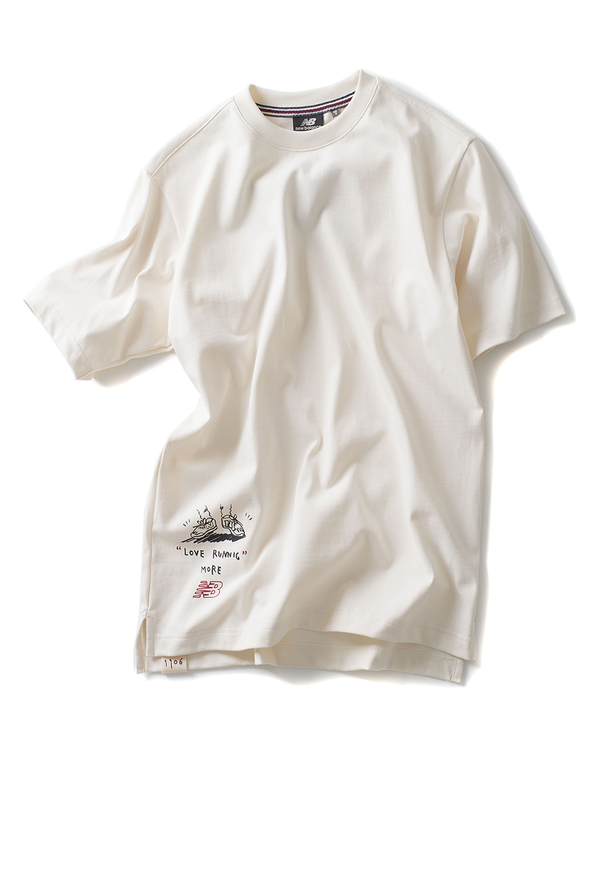 New Balance : UNI Drawing Pack Running On NB Tee (Ivory)