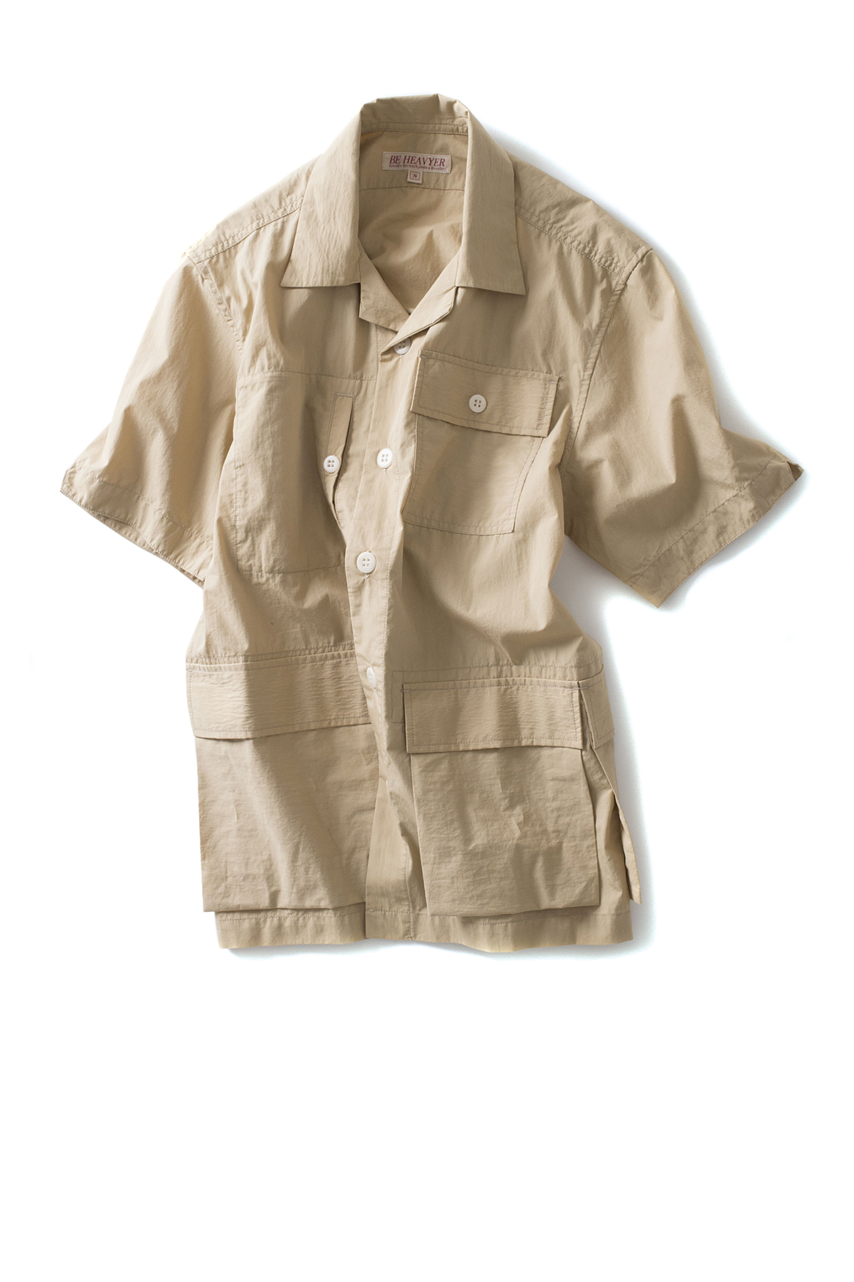 Be Heavyer : BDU Half Jacket (Beige)