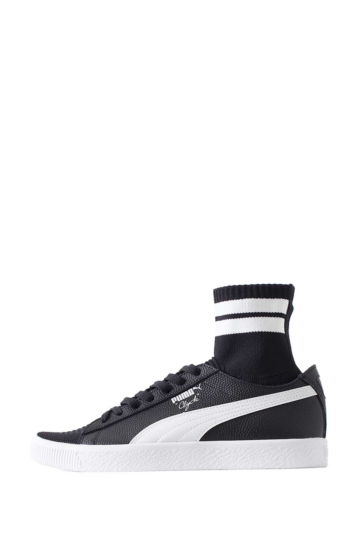 PUMA : Clyde Sock NYC (Black / White)