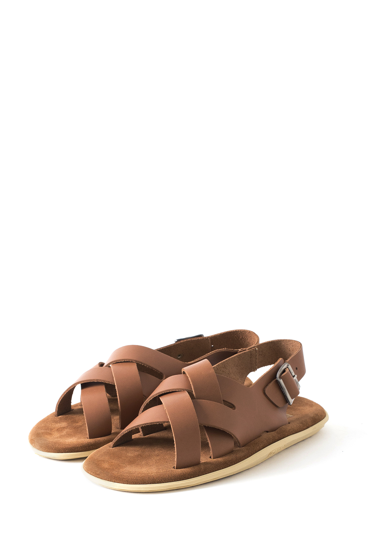 ISLAND SLIPPER : PT408 (Leather Suede / Cognac)