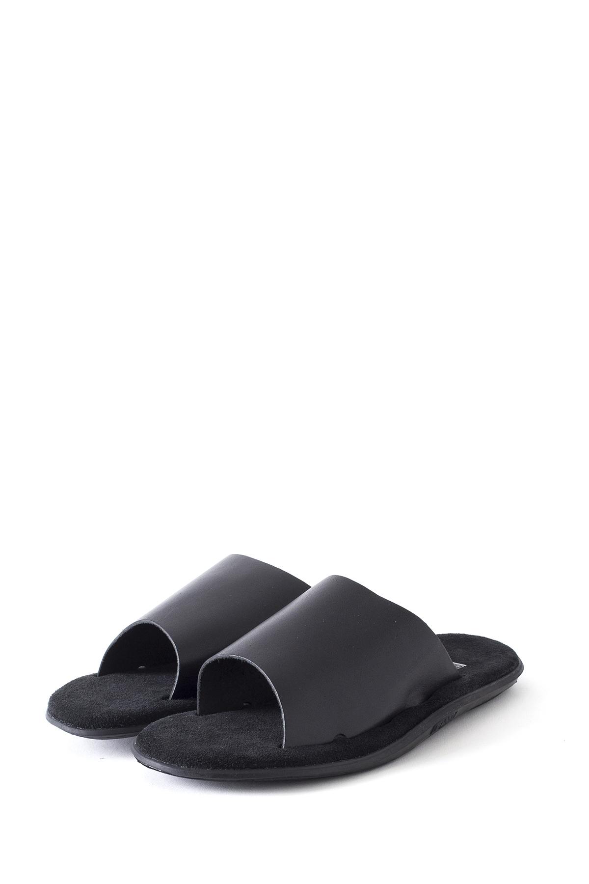 ISLAND SLIPPER : PBS705 (Leather Suede / Black)