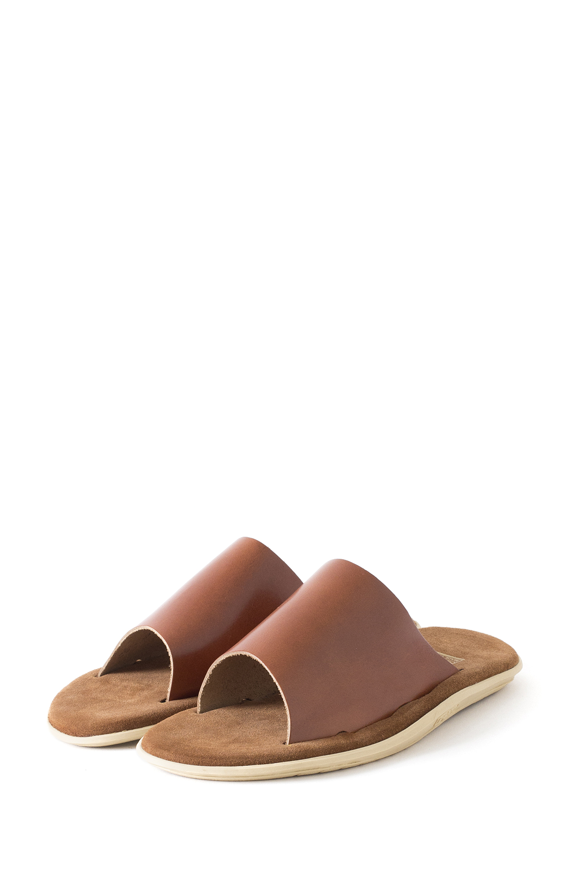ISLAND SLIPPER : PTS705 (Leather Suede / Cognac)