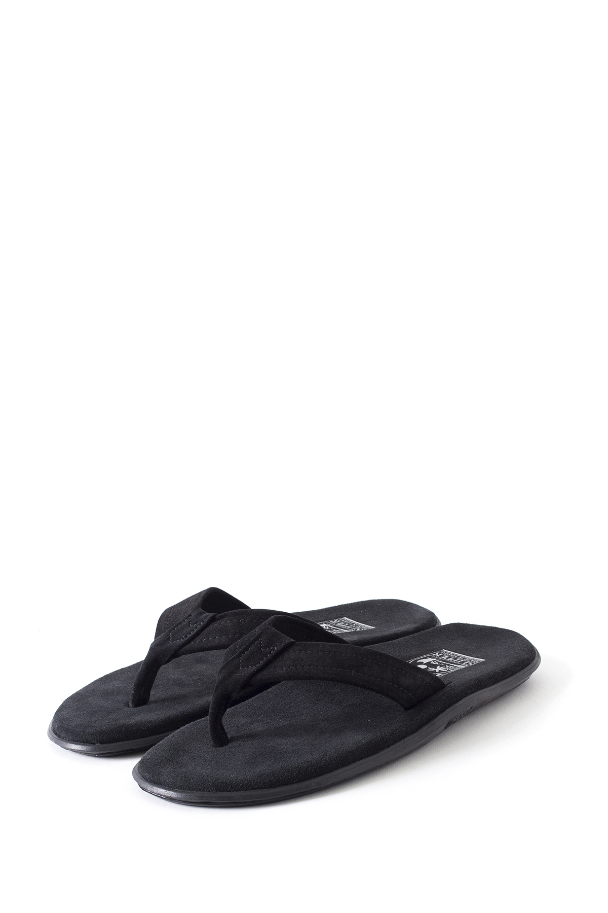 ISLAND SLIPPER : PB203 (Suede / Black)
