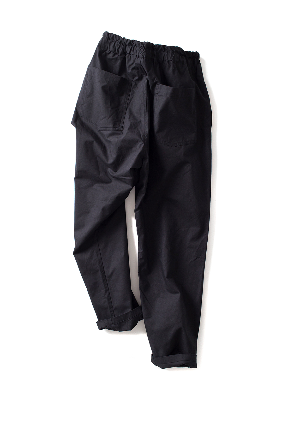 RINEN : Aligned Ox Easy Pants (Black)