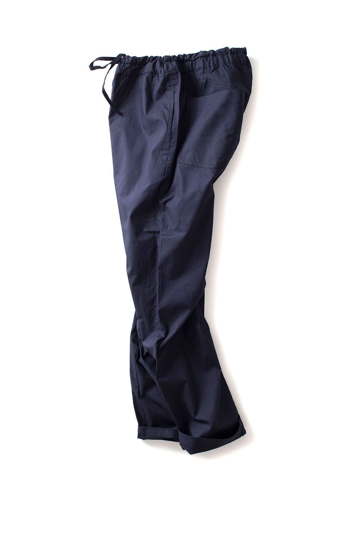 RINEN : Aligned Ox Easy Pants (Navy)