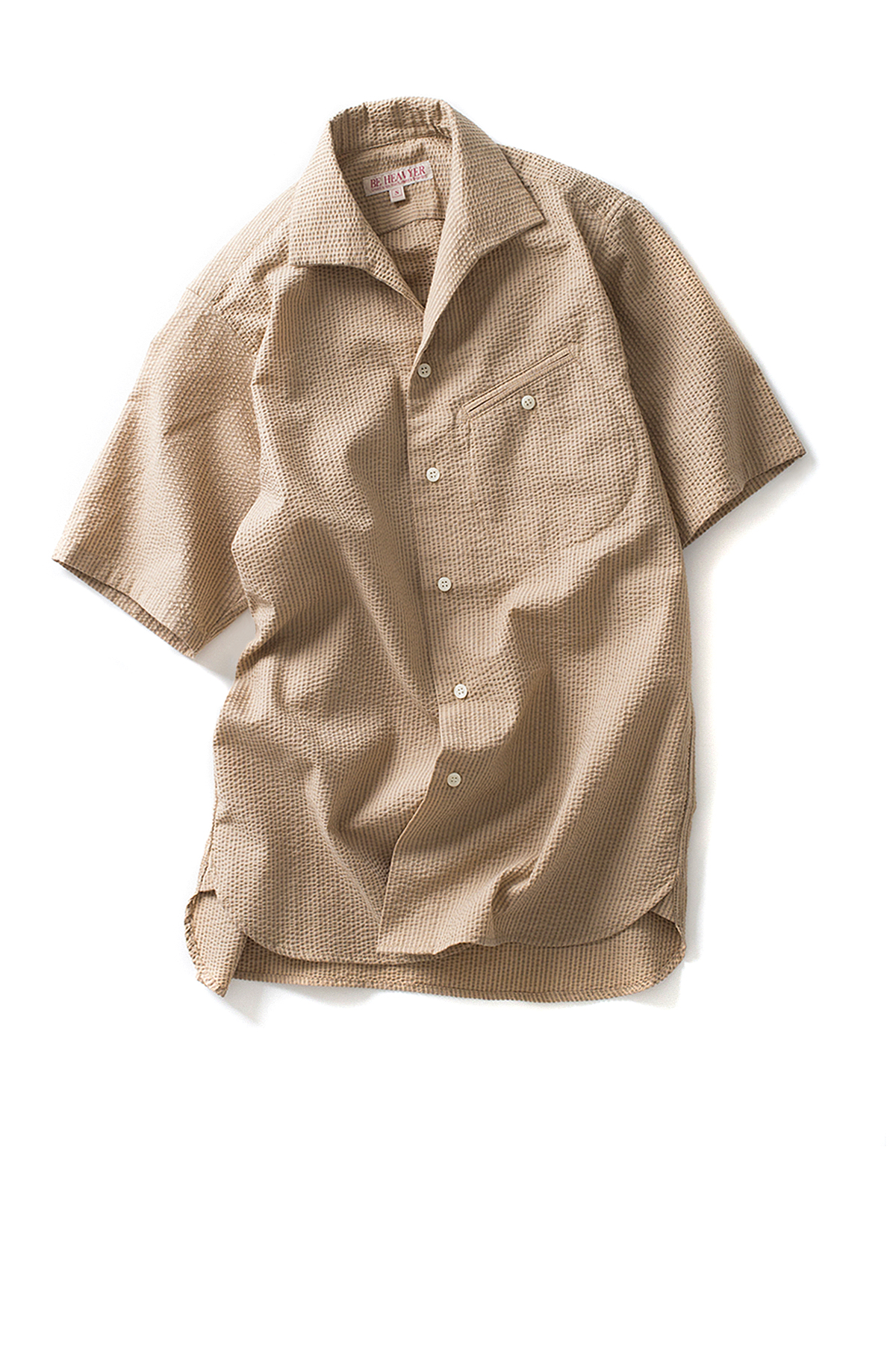 Be Heavyer : Flight Shirt (Beige)