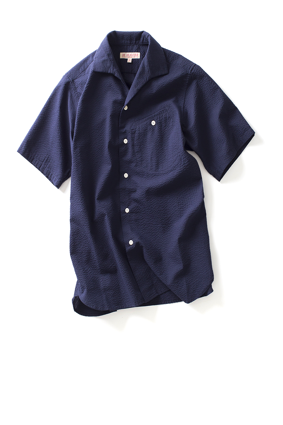 Be Heavyer : Flight Shirt (Navy)