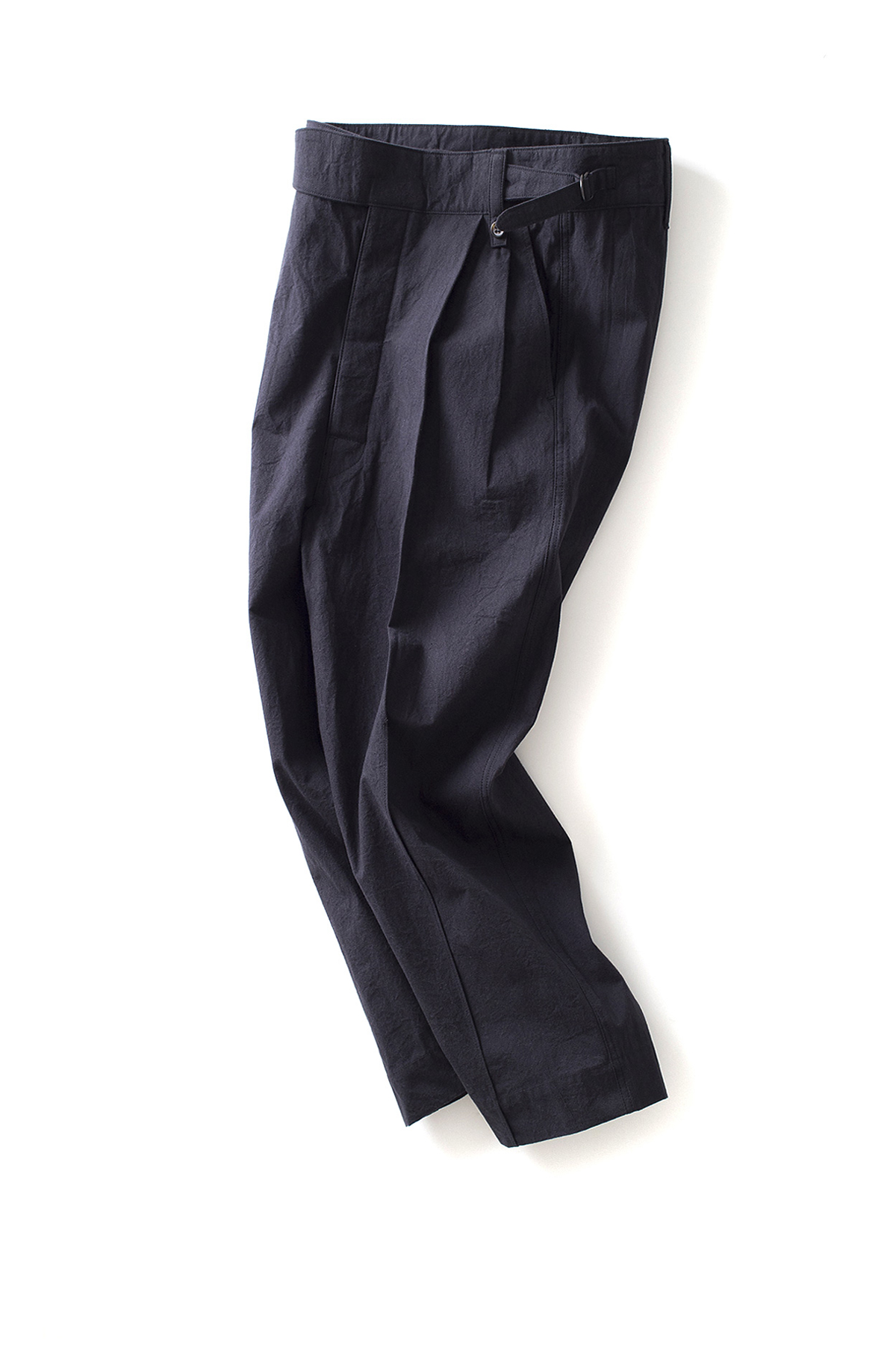 bukht : Pin Tuck Gurkha Pants (Black)