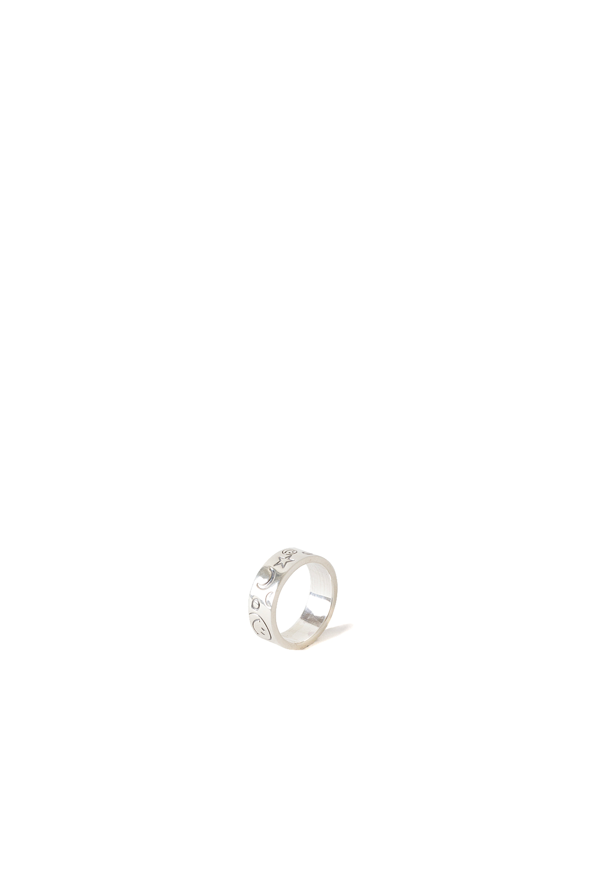 North Works : 900 Silver Stamp Ring (W-321A)