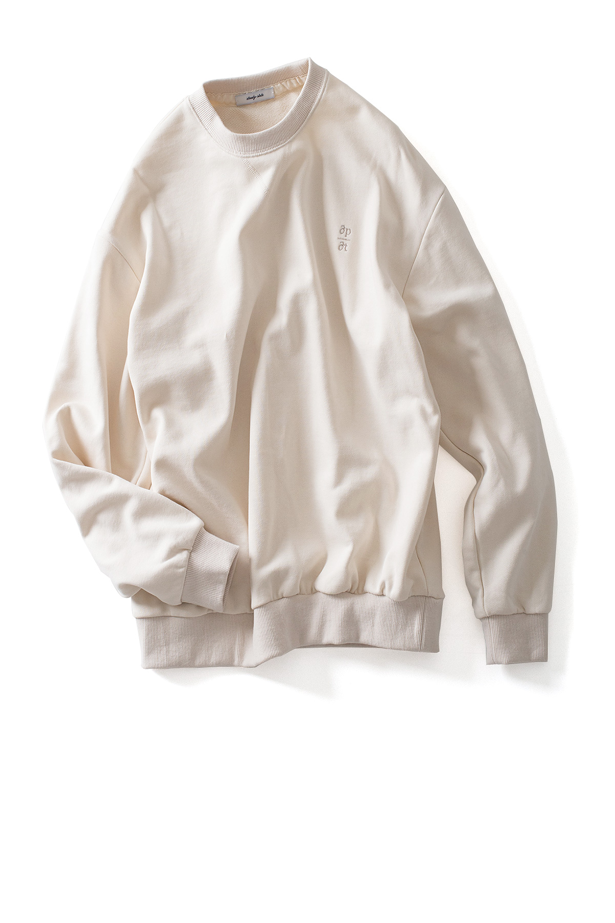 steady state : Sweatshirt (Ivory)