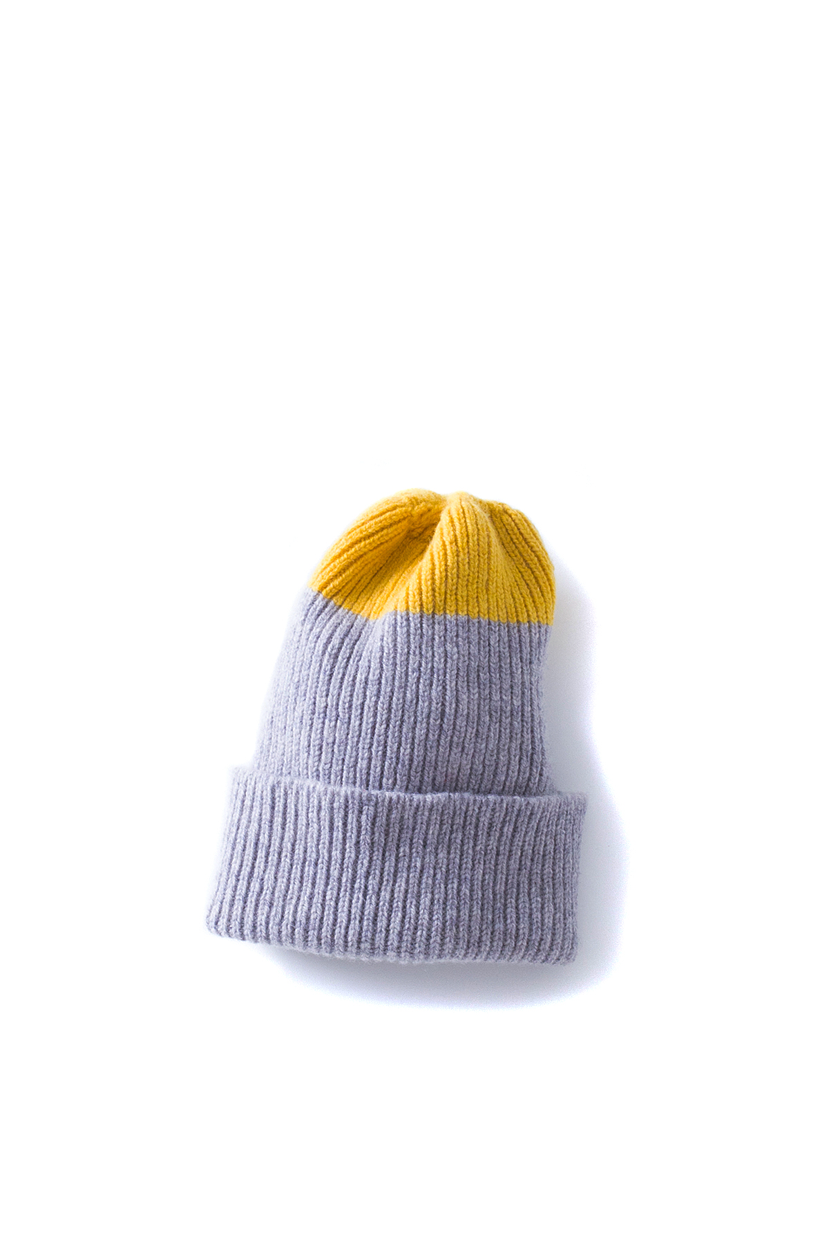 Country of Origin : Watch Cap (Grey / Yellow)