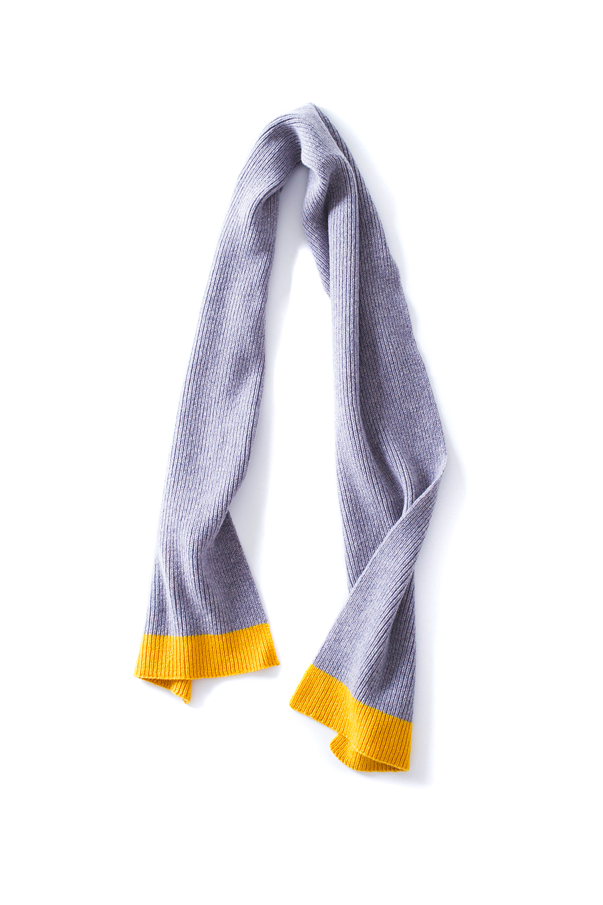 Country of Origin : Scarf (Grey / Yellow)