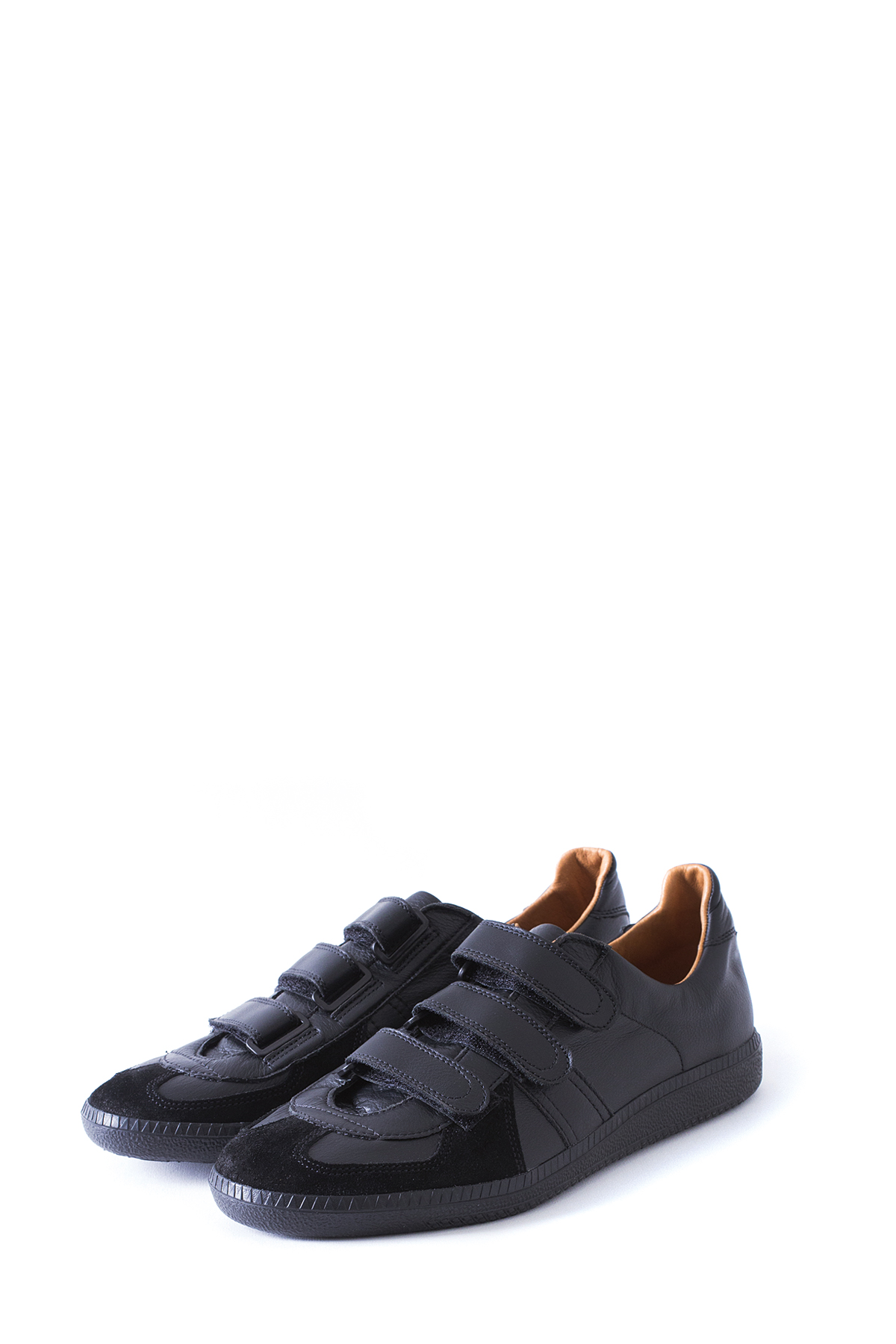 REPRODUCTION OF FOUND : German Velcro Military Trainer (Black)