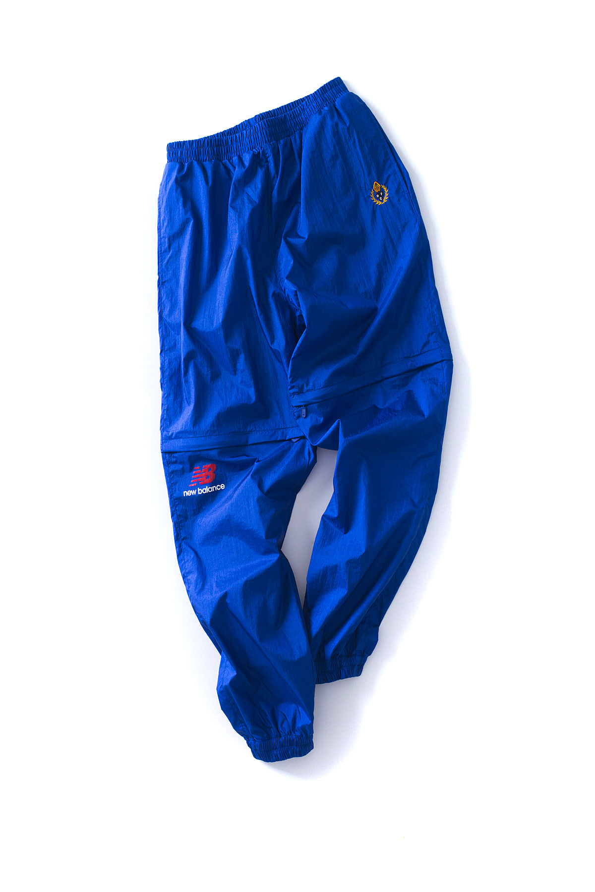 NB X Heritage Floss : Nylon Track Pants (Blue)